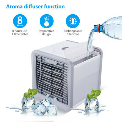 Air Cooler Portable mini Air Conditioner Humidifier Purifier Cooler Fan UK