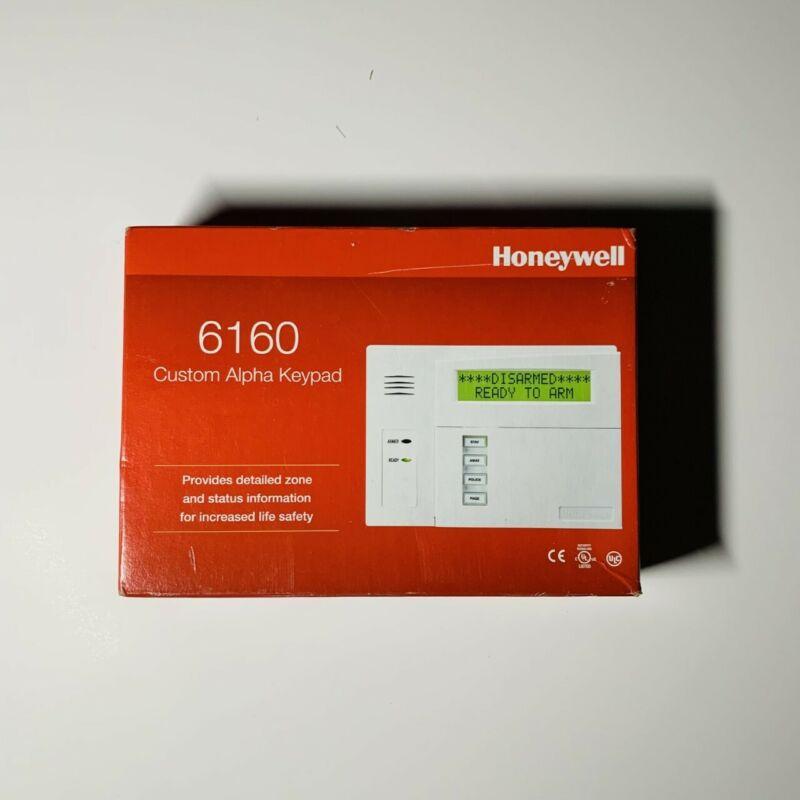 Honeywell 6160 Custom Alpha Display Keypad, Ademco, New, Unopened
