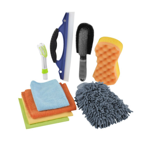 1x Car Cleaning Tools Kit Washing Sponge Cleaning Brush Glov