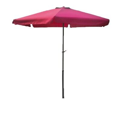 Lex Parasol Ø 3M with Crank in Burgundy Red