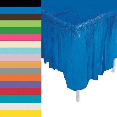 Plastic Table Skirt (Plastic Table Skirt 29