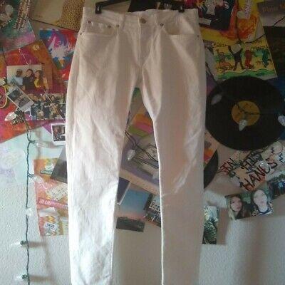 Acne Studios Ace Skinny Jean White 30 x 32 Brand New Men's Jeans