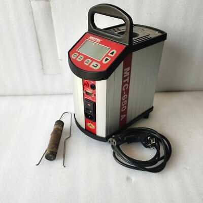 Ametek Jofra Mtc 650a Dry Block Temperature Calibrator Ambient To 650c