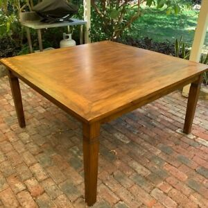 Square Dining Table Solid Wood