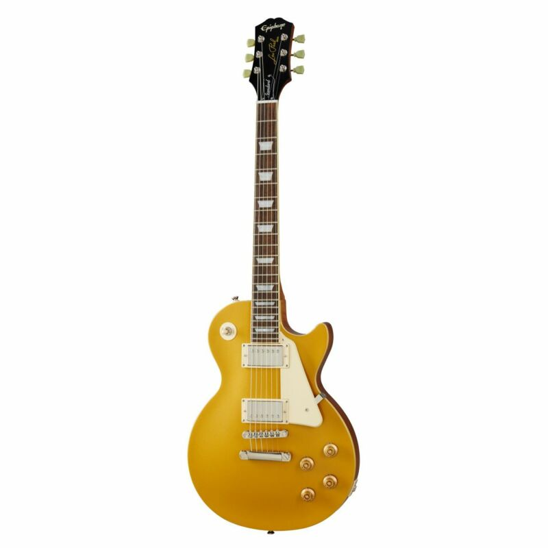 EPIPHONE Les Paul Standard '50s Metallic Gold - E-Guitar