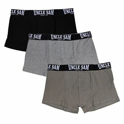 UNCLE SAM Retroshorts Herren Boxershort 3er-Pack