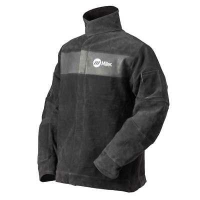 Miller 273213 Split Leather Welding Jacket Medium