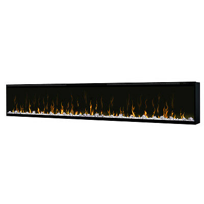 "Dimplex Buit in electric fireplace Ignite XL 100"" Frameless Heater Contemporary"