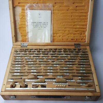 Big 1 Precision Angle Gauge Block Set 93 Pcs 16 Kg Grade 1 - Free Shipping