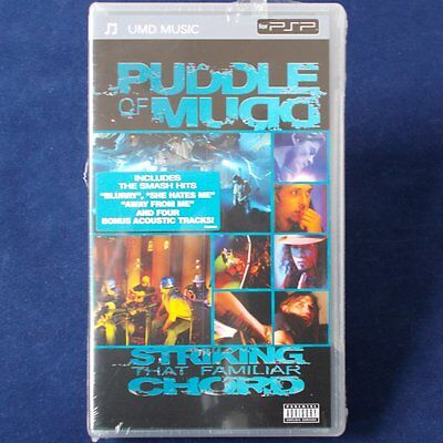 PSP - Playstation Portable ► Puddle of Mudd | UMD Music ◄ NEU & OVP