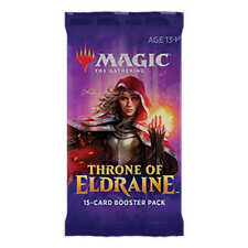 MAGIC THE GATHERING THRONE OF ELDRAINE - ENGLISH BOOSTER PACK SEALED