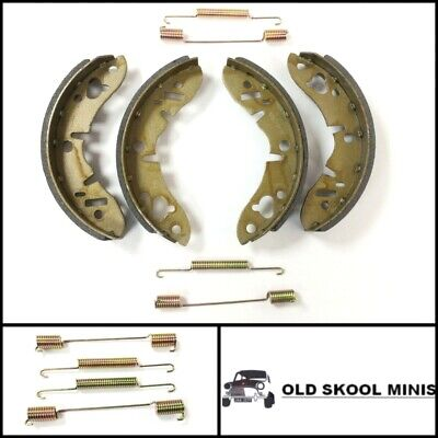 CLASSIC MINI REAR BRAKE SHOE SET & SPRING KIT GBS834 GBK1834 AUSTIN MORRIS ROVER