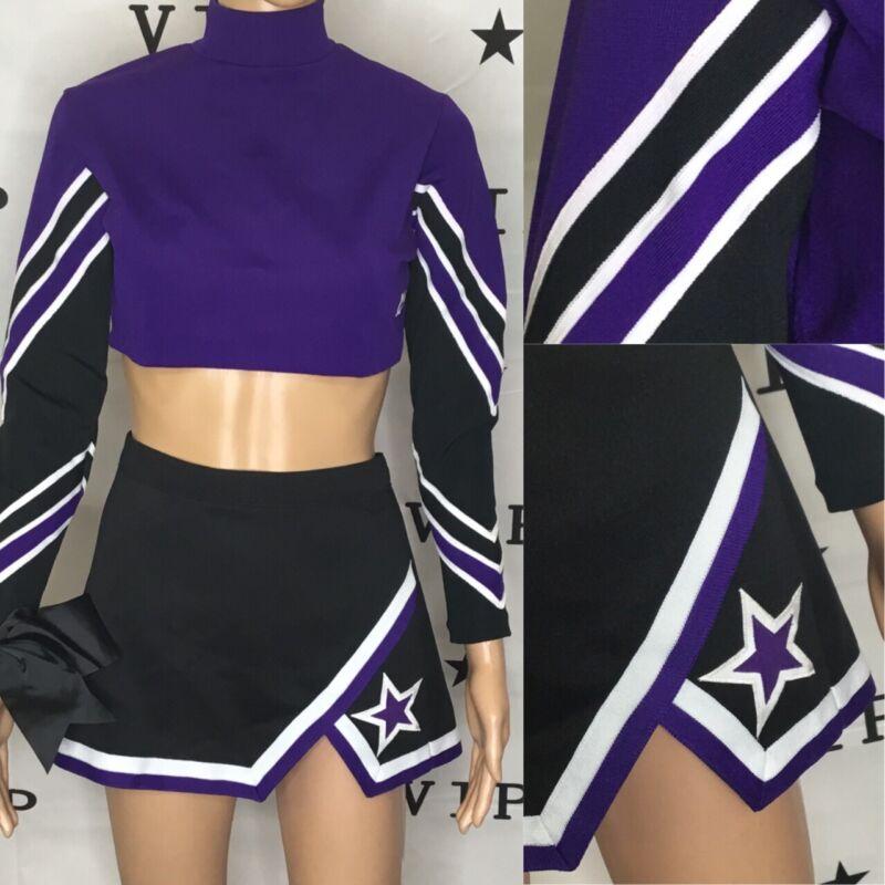 Cheerleading Uniform Spirt Of Texas Plain Adult Large