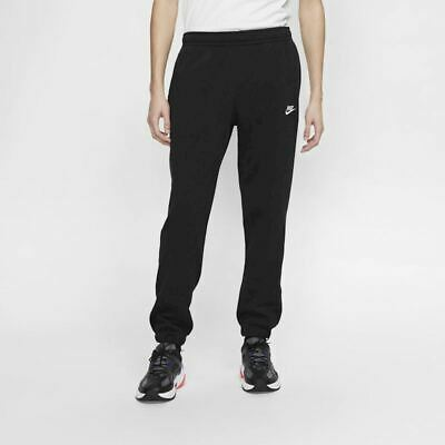 Nike Men's Sportswear Club Fleece Jogger Pants Black/White BV2737-010 d