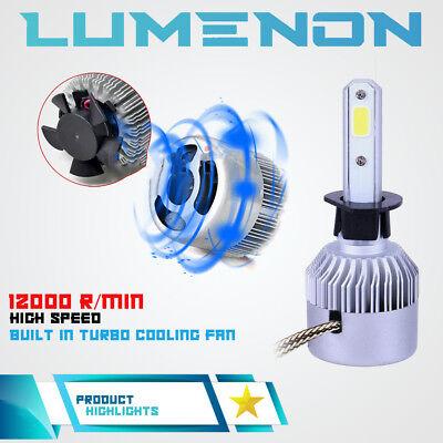 Lumenon 9007 HB5 LED Headlight Bulb Kit Low Beam 6000K 90W 180000LM White Light