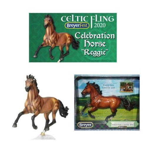 Breyerfest 2020 Celebration Horse Reggie ~ Ballynoe Castle ~ SHOW JUMPER MOLD