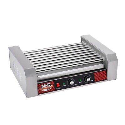 Great Northern Popcorn Commercial 24 Hot Dog 9 Roller Grilling Machine 1800watt
