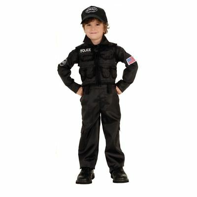 Police SWAT Uniform Kids/Toddler Costume