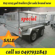 🌟8x5 Galvanised Tipping Box Trailer, 1400kg ATM, 600mm cage 🌟 Bayswater Knox Area Preview