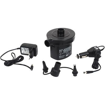 Electric Camping Air Pump Inflate & Deflate Bed Beach Toys & Pool 12v or Mains