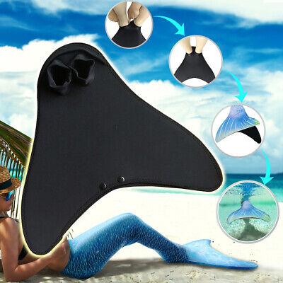 Kinder Meerjungfrau Mono Flossen Schwanzflosse Schwimmen Mermaid - Tauchen Schwimmen Kostüm