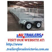 8x5 GALVANISED TANDEM TRAILAR WITH FOLD DOWN RAMP 2000KG ATM 1 Springvale Greater Dandenong Preview