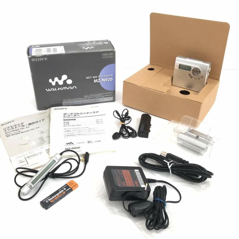 Sony Net MD Walkman Silver MZN920 S