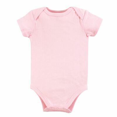 Luvable Friends Girl Bodysuits, 1-Pack, Pink