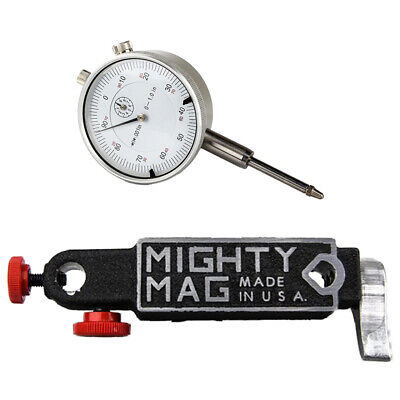 Mighty Mag 400-3 Magnetic Base With Release Lever 1 Dial Indicator Set
