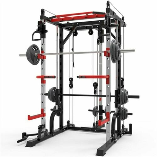 French Fitness FSR10 Multi Cable Functional Smith Rack Machine (New)