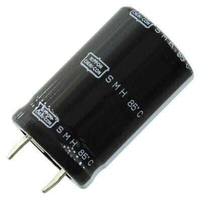 United Chem-con Smh Snap-in Capacitor 12000 Uf 63 Vdc 35mm X 45mm