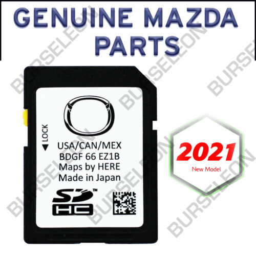 NEW Mazda 2019 2020 2021 Mazda 3 CX-30 Navigation SD CARD BDGF 66 EZ1B US Canada