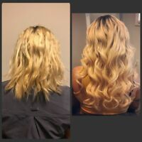 Fusion, Micro/Nano Link & Tape in Hair Extensions