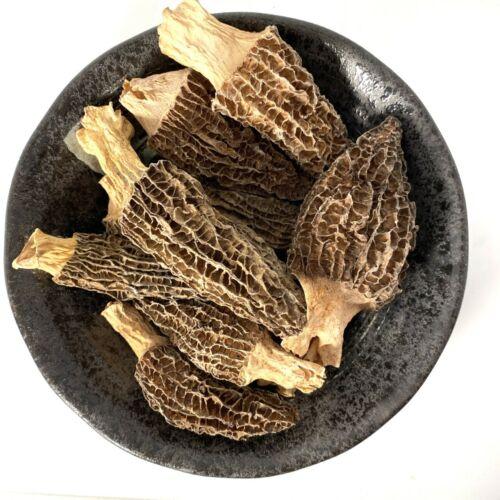 1oz - 16oz Dried Wild Morel Mushrooms, Wild Morchellas