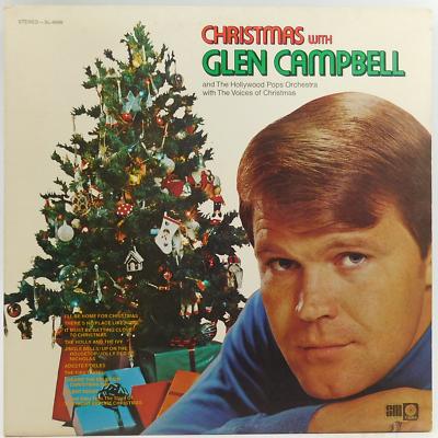 Glen Campbell Christmas With Glen Campbell - Vintage LP Vinyl Record Album - $16.00