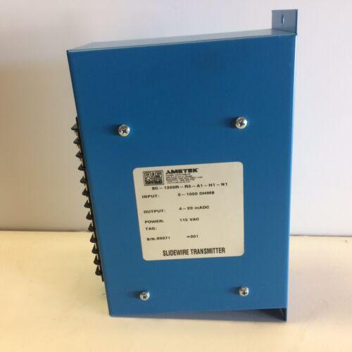 GUARANTEED GOOD USED! AMETEK RIS SLIDEWIRE TRANSMITTER SC-1300R-R3-A1-H1-N1