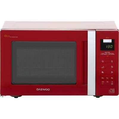 Daewoo KOR6A0RR 800 Watt Microwave Free Standing Red New from AO