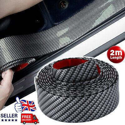 2M Car Rear Boot Bumper Sill Body Guard Protector Rubber Plate Trim Strip Cover