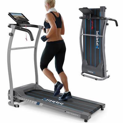 Laufband elektrisch klappbar 10 km/h LCD Display Puls Fitness Heimtrainer 120 kg