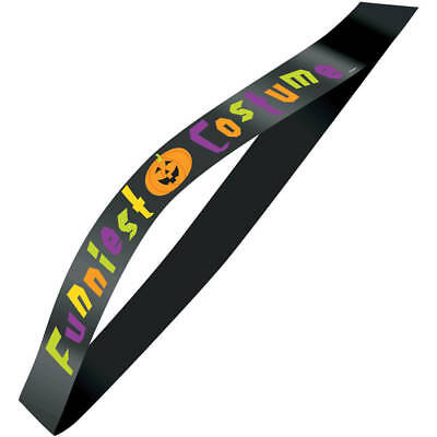 Funniest Costume Halloween Satin Award Sash - Funniest Halloween