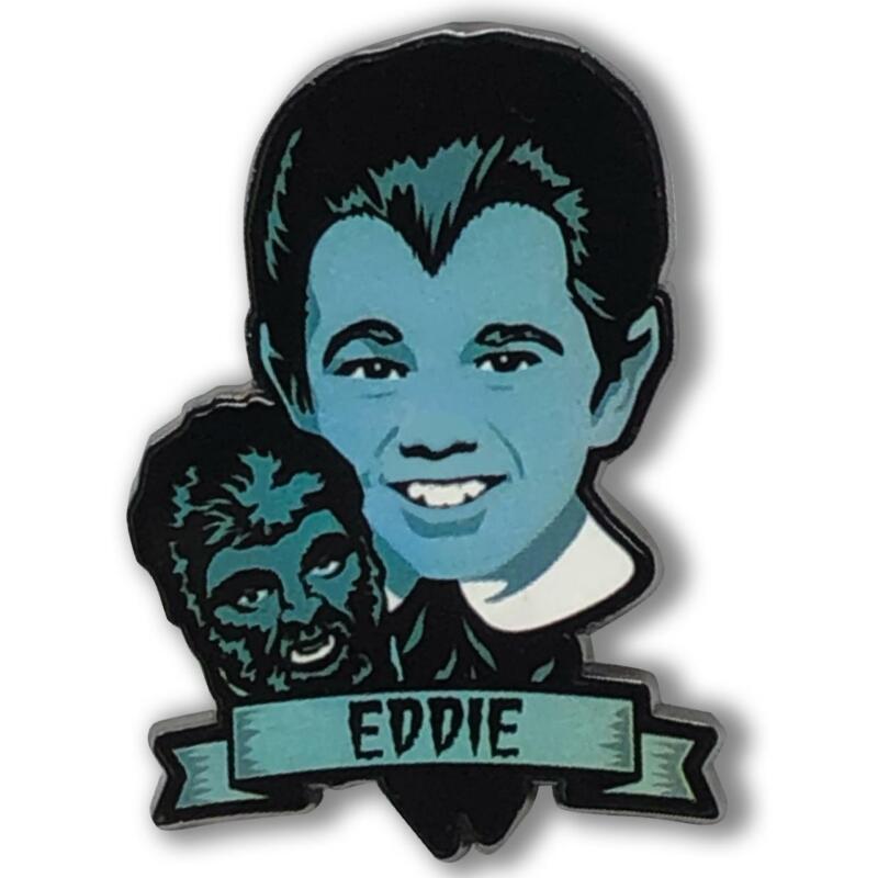 RETRO A GO GO! The Munsters Eddie Munster Enamel Pin NEW