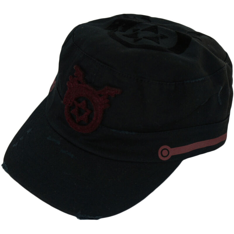 Fullmetal Alchemist Brotherhood Ouroboros Cap Adjustable Distress Style Official