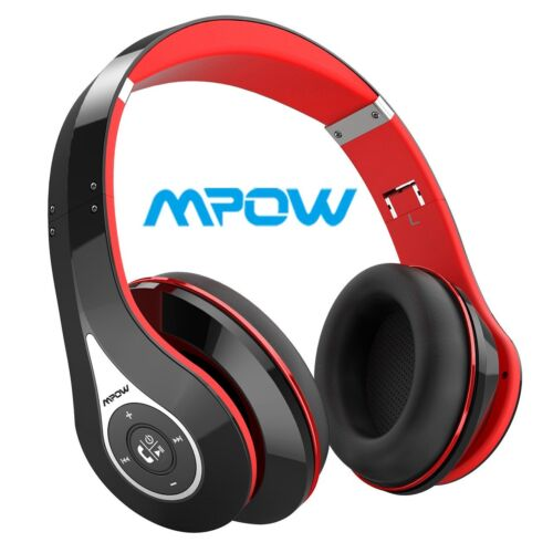 Mpow On-Ear Headset Bluetooth Noise Cancelling HiFi Stereo
