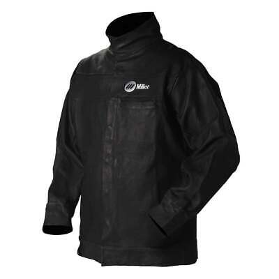 Miller 231090 Grain Leather Welding Jacket Large