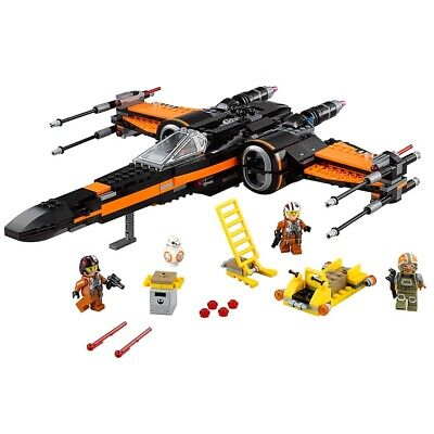 LEGO Star Wars Poe's X-Wing Fighter 75102 Complete In Bags