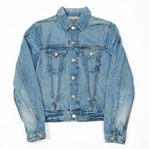 Details zu 90s Vintage DKNY Denim Jacket | Womens M | Jeans Coat Biker Retro