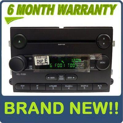 06 07 Ford Explorer Sport Trac F150 F250 F350 OEM Radio SAT MP3 Disc CD Player