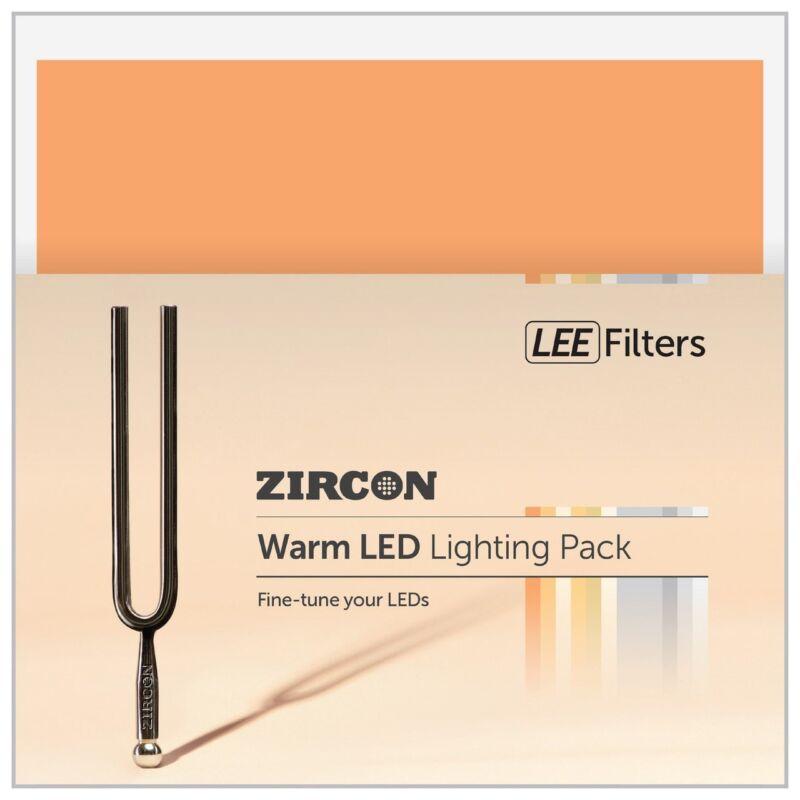 Lee Filters Zircon Warm LED lighting pack