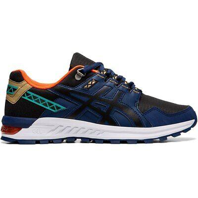 ASICS 1021A221 002 GEL CITREK Black Blue Expanse Men's Running Shoes