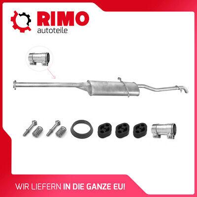 Gummihalter Schelle für Endtopf Mercedes A Klasse W168 A 160 170 CDI Montagesatz